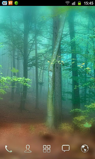 森林动态壁纸安卓版高清截图