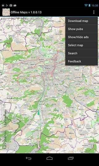 脱机地图安卓版高清截图