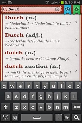 荷兰英语词典安卓版高清截图