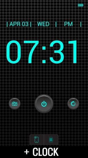 手电筒 + 时钟 (LED 手电)安卓版高清截图