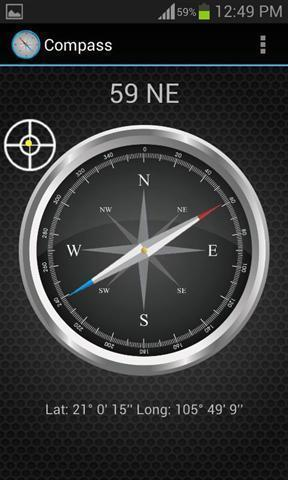 数码指南针安卓版高清截图