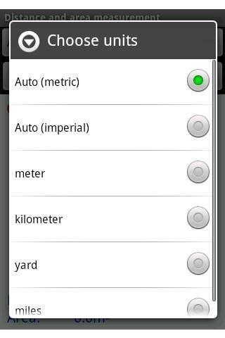 测量距离和面积安卓版高清截图