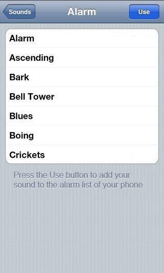 iPhone手机铃声安卓版高清截图