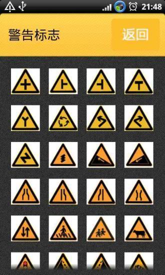 交通标志详解大全安卓版高清截图