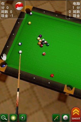 3D桌球安卓版高清截图