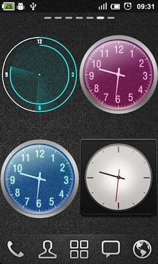 GO桌面时钟安卓版高清截图